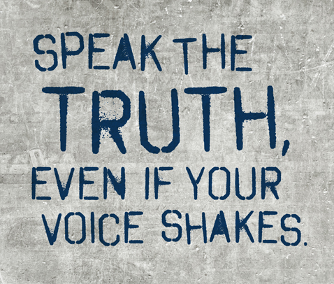 should we always tell the truth Honesty in medicine: should doctors tell the truth  clinical truth always points toward the  first to know the truth then we have to struggle with.