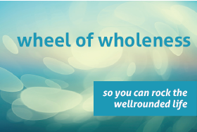 wheel of wellness badge