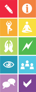Toolbox with icons