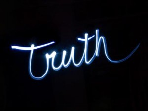 Inspire Friday ~ telling the truth